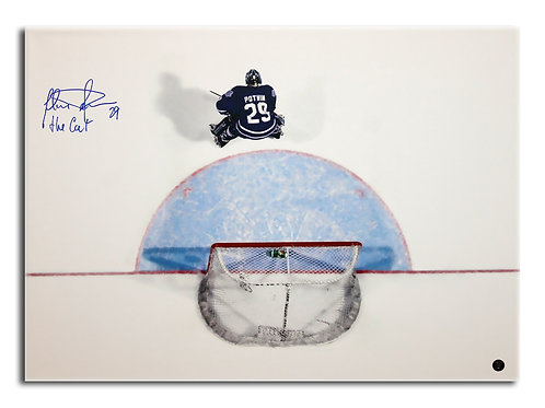 Felix Potvin Signed 20x24 Canvas
