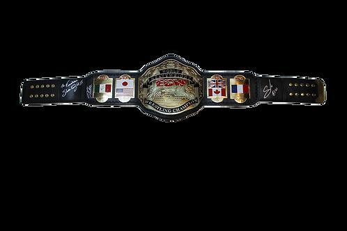 Sabu/Douglas/Rhino Signed ECW Belt
