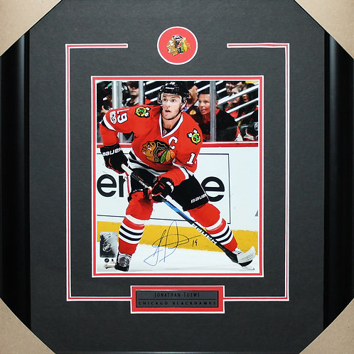 Jonathan Toews Signed 8x10 Action Frame