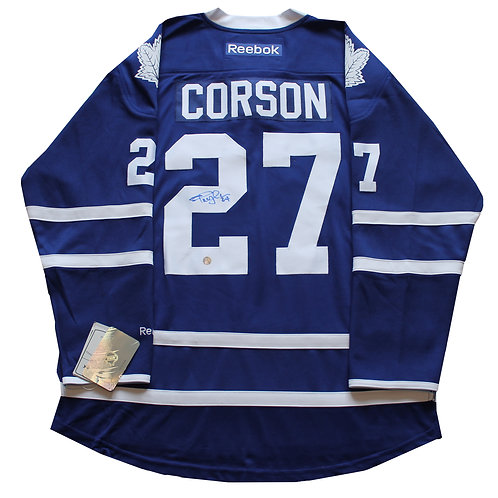 Shayne Corson Signed Home Jersey