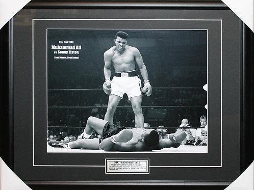 Muhammad Ali Unsigned Get Up Frame