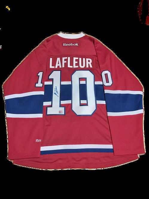 Guy Lafleur Signed Home Jersey