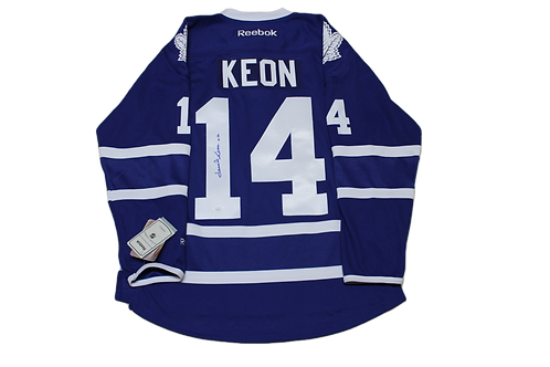 Dave Keon Signed Home Jersey