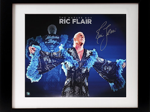Ric Flair Signed 16x20 Collage Frame
