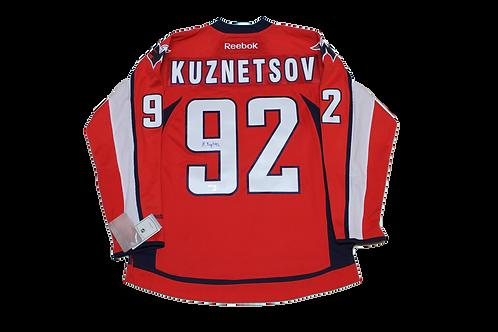 Evgeny Kuznetsov Signed Home Jersey