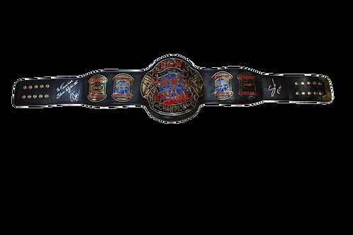 Sabu/Douglas/Rhino Signed ECW Championship Belt