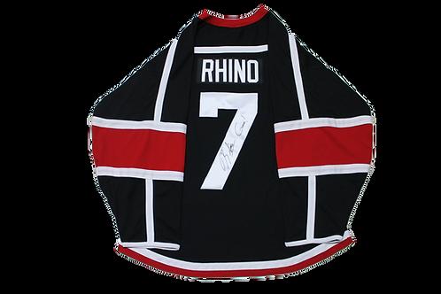 Rhino Signed ECW Hockey Jersey