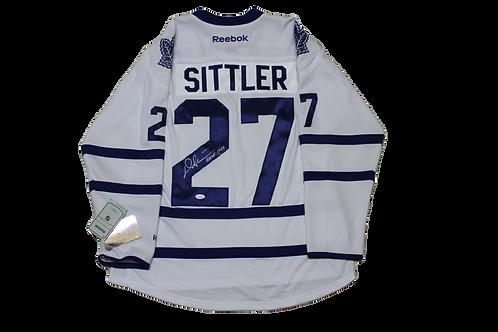 Darryl Sittler Signed Away Jersey