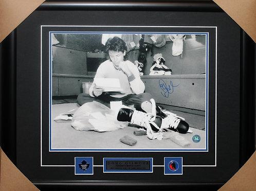Doug Gilmour Signed 11x14 Mail Frame