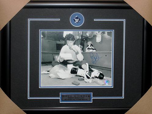 Doug Gilmour Signed 8x10 Mail Frame