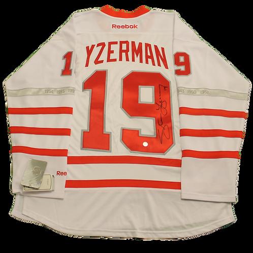 Steve Yzerman Signed Classic Jersey