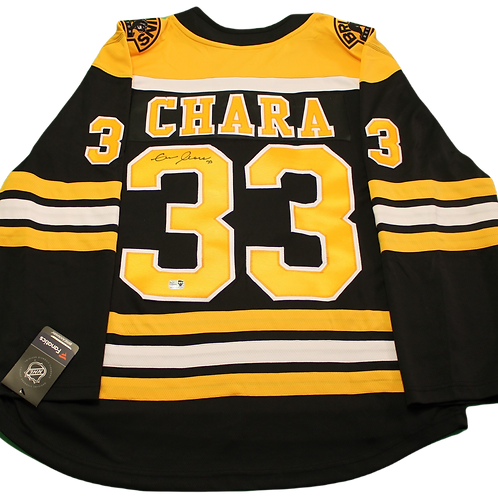Zdeno Chara Signed Home Jersey