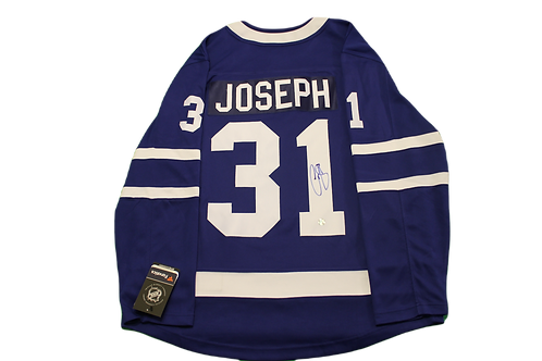 Curtis Joseph Signed Home Jersey