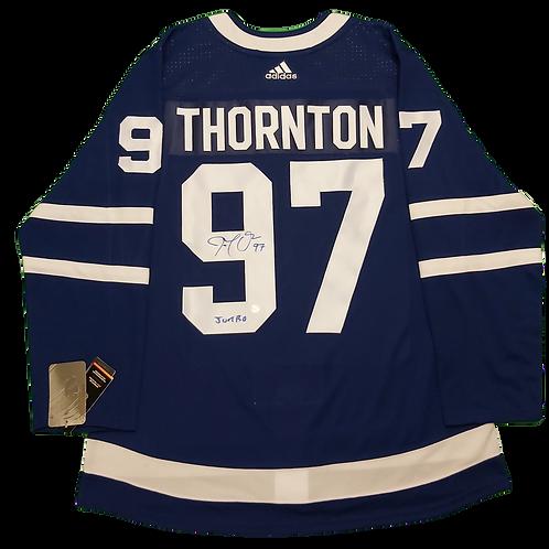 Joe Thornton Signed Home Jersey