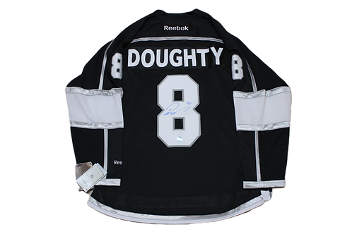 Drew Doughty Signed Home Jersey