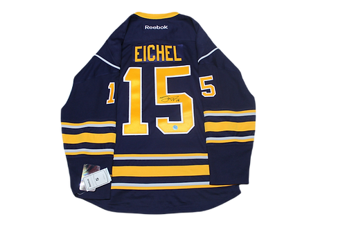 Jack Eichel Signed Home Jersey