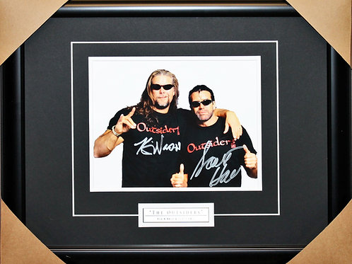 Outsiders Signed 8x10 Frame