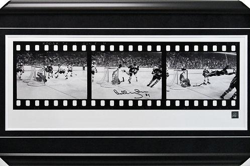 Bobby Orr Signed 12x28 Film Frame