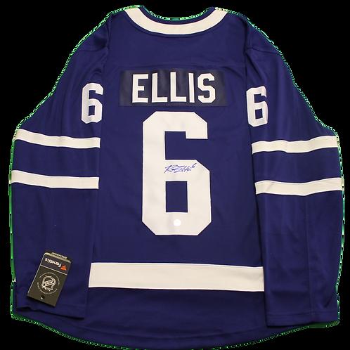 Ron Ellis Signed Home Jersey