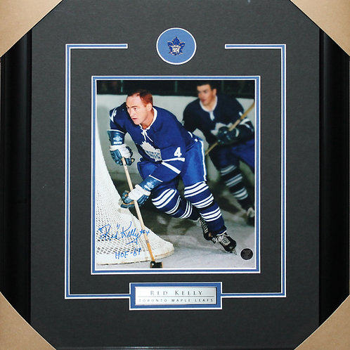 Red Kelly Signed 8x10 Action Frame