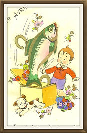Poisson d'avril surprise chance