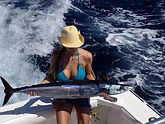 Wahoo fishing charter in Costa rica