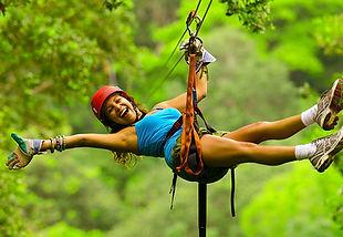 ziplining in playas del coco costa rica