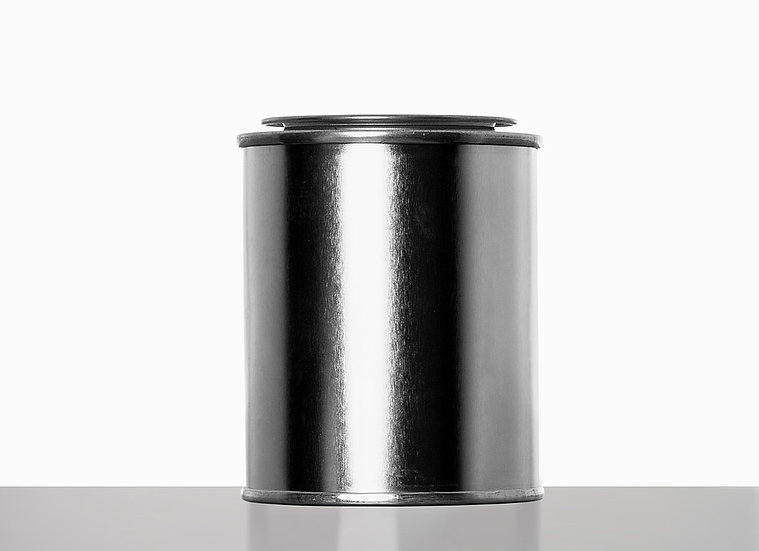 ring lid can, 125 milliliter