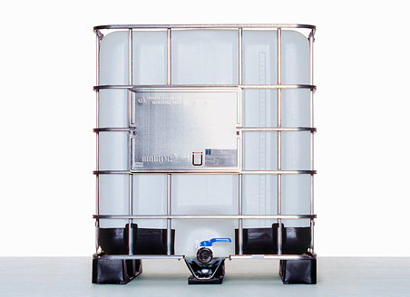 """IBC Container SM15 2"""" with nominal volume 1.000,0L and UN Approval"""