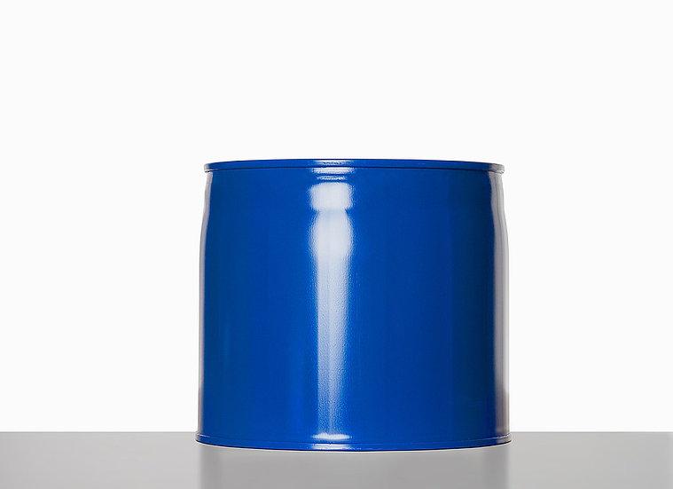 Flat tight head drum, 6,0 liter