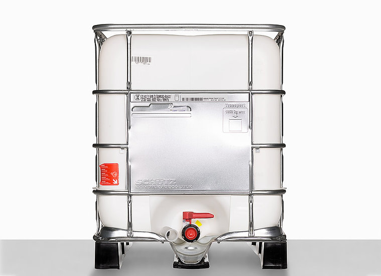 IBC Container 640,0 l, 225,0mm mouth and UN Approval