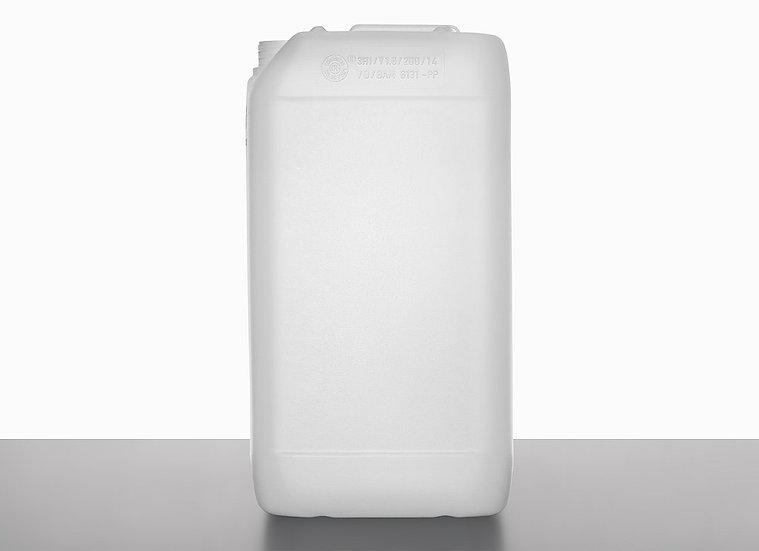 plastic canister, 15,0 liter