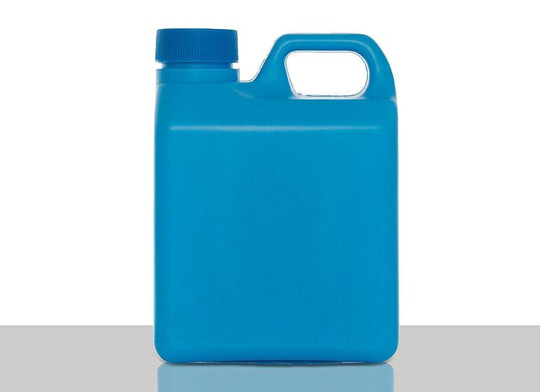 Plastic canister, 1,0 liter