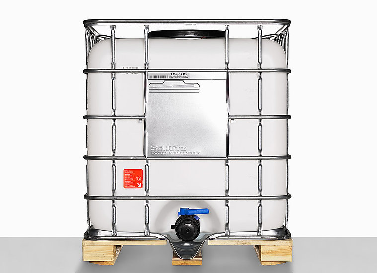 IBC Container MX 1000 with nominal volume 1.000,0L and mouth 400,0mm