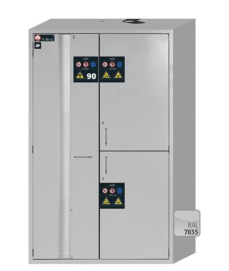 Combi safety storage cabinets K-PHOENIX-90 modelK90.196.120.MC.FWAS
