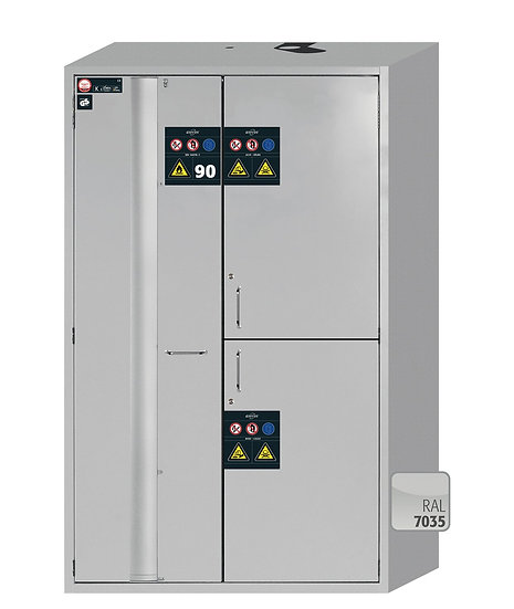 Combi safety storage cabinets K-PHOENIX-90 modelK90.196.120.MF.FWAS