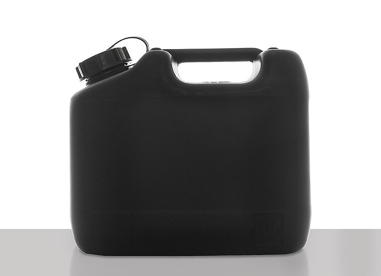 Plastic canister, conductive, 10,0 liter