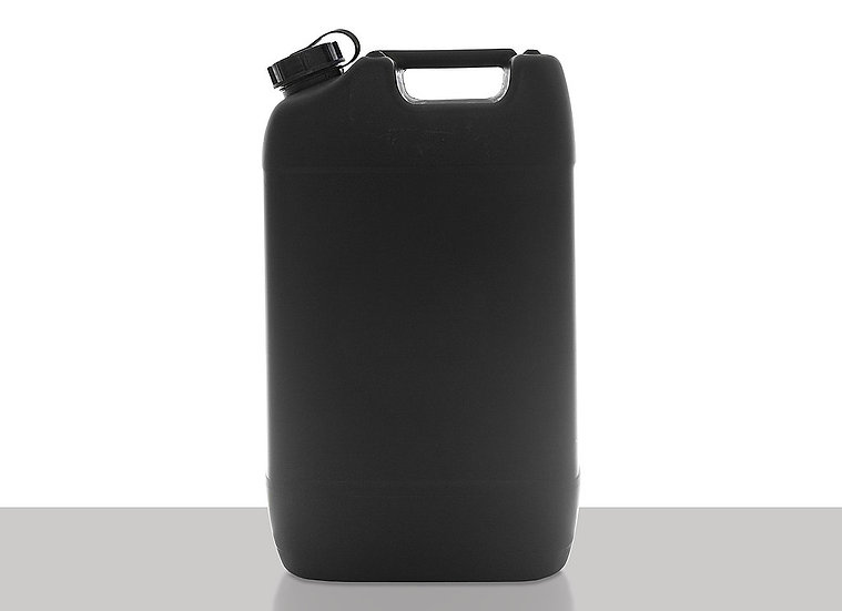 Plastic canister, conductive, 20,0 liter