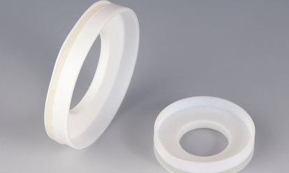 BOLA Glass Flange Metal Adaptors, PTFE