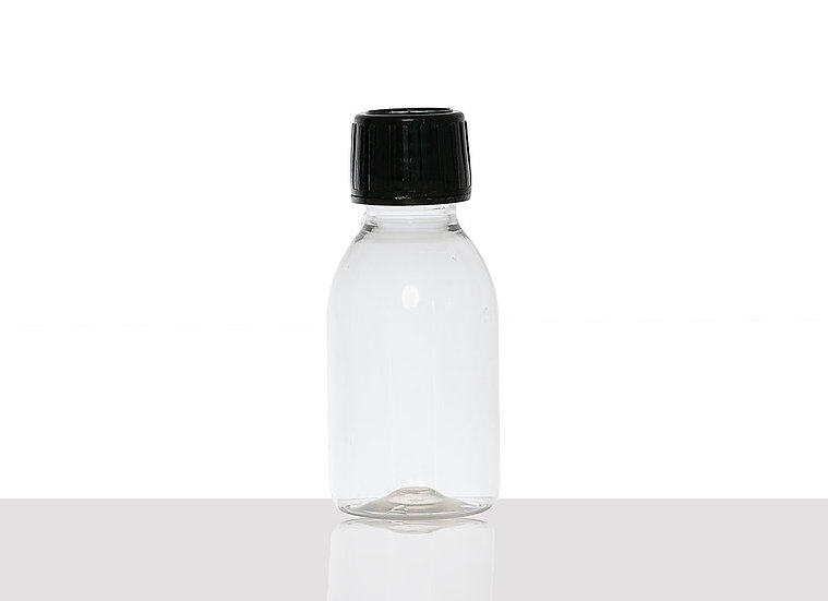 PET bottle, 100 milliliter