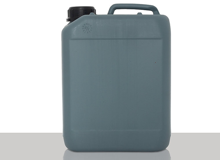 Recycled PCR plastic canister, 5,0 liter