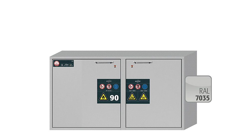 Combi safety storage cabinets K-UB-90 modelK90.060.110.050.UB.2T
