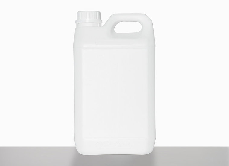 Plastic canister, fluorinated, 3,0 liter
