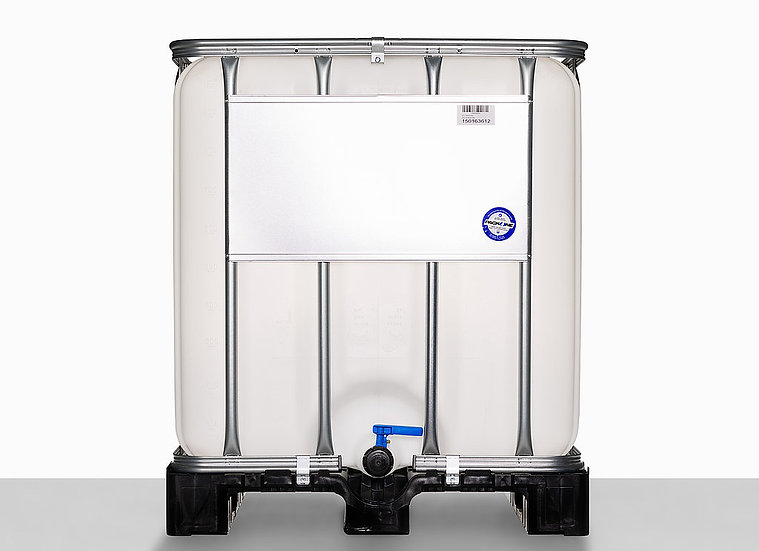 IBC LX-Composite with nominal volume 1.000,0 liter and UN Approval