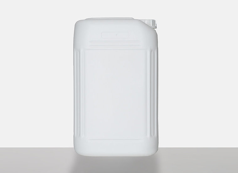 Plastic Canister, fluorinated, 25,0 liter