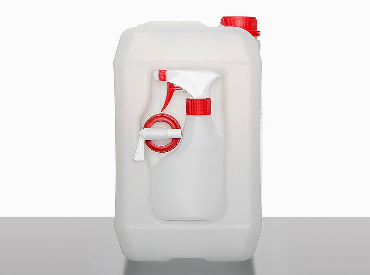 Combination canisters, 5,0 liter