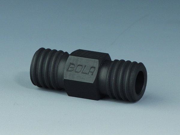 BOLA GL Tube Fittings EX, Straight, PTFE EX