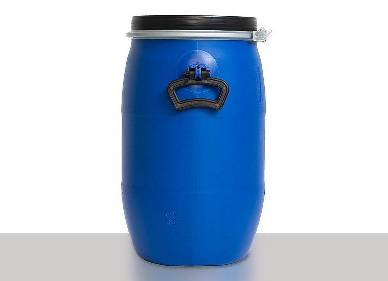 Open head drum, plastic, 30l with UN Approval