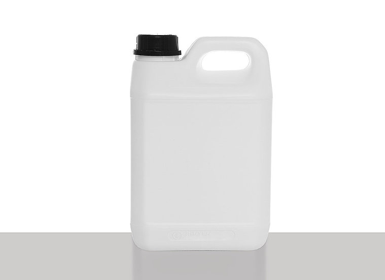 Canister, fluorinated, 2,5 liter