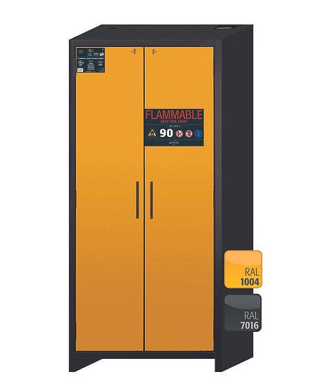 Safety storage cabinet Q-CLASSIC-90 modelQ90.195.090.FU.WDAS